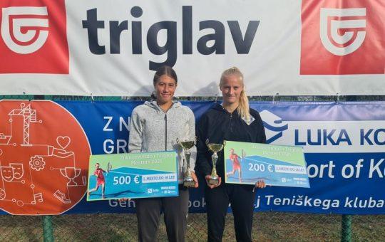 hana1 540x340 - U18: Protič Žakelj na Mastersu v Kopru najboljše prihranil za konec, do naslova še Hana Bečirovič Novak (FOTO)