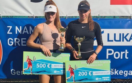 pracek petelinsek 540x340 - U16: Ana Tara Praček in Carlo Angeli zmagovalca Mastersa v Kopru