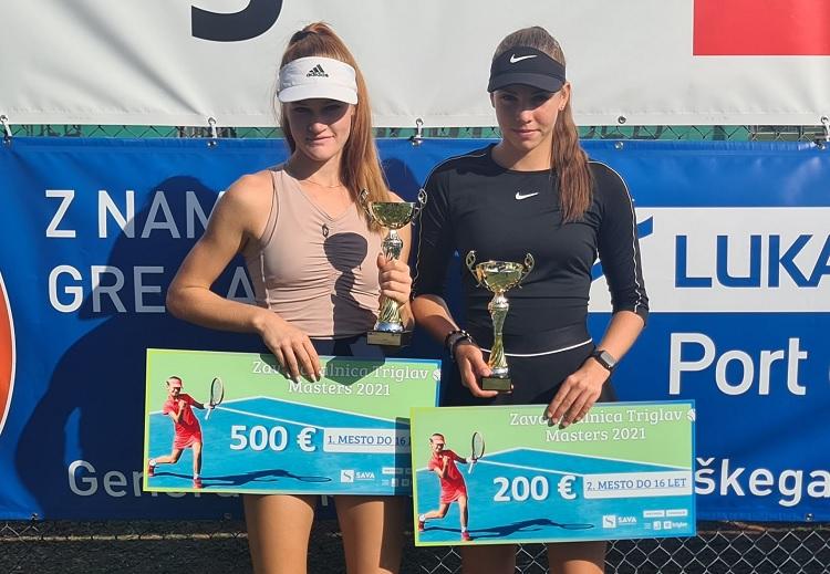 pracek petelinsek - U16: Ana Tara Praček in Carlo Angeli zmagovalca Mastersa v Kopru