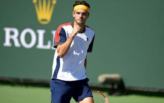 taylor fritz indianwells 540x340 - ATP Indian Wells: Zverev in Tsitsipas obtičala v četrtfinalu