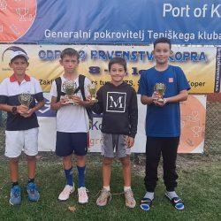 u11 250x250 - U8 - U11: Najmlajši slovenski upi za konec poletne sezone 2021 navdušili v Kopru (FOTO)